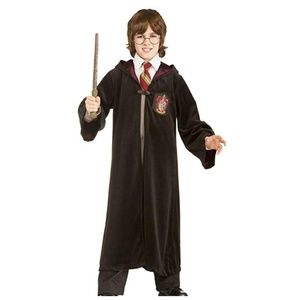 Harry Potter Hooded Robe Cape Size M Costume